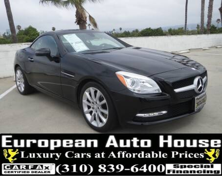 2016 Mercedes-Benz SLK for sale at European Auto House in Los Angeles CA
