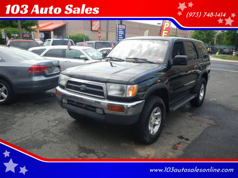 1997 Toyota 4Runner for sale at 103 Auto Sales in Bloomfield NJ