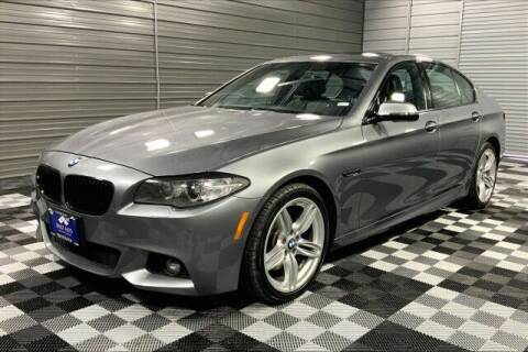 2015 BMW 5 Series for sale at TRUST AUTO in Sykesville MD