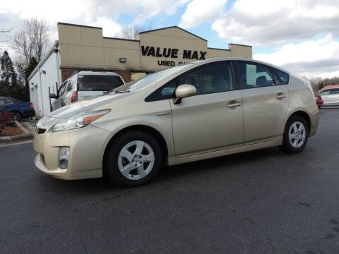 2011 Toyota Prius for sale at ValueMax Used Cars in Greenville NC