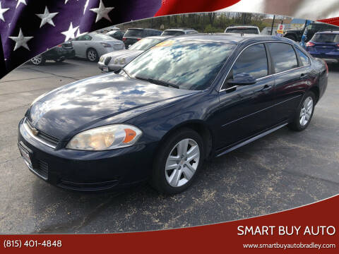 2010 Chevrolet Impala for sale at Smart Buy Auto in Bradley IL