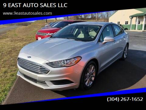 2017 Ford Fusion for sale at 9 EAST AUTO SALES LLC in Martinsburg WV