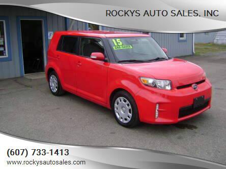 2015 Scion xB for sale at Rockys Auto Sales, Inc in Elmira NY