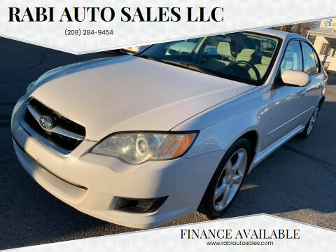2009 Subaru Legacy for sale at RABI AUTO SALES LLC in Garden City ID