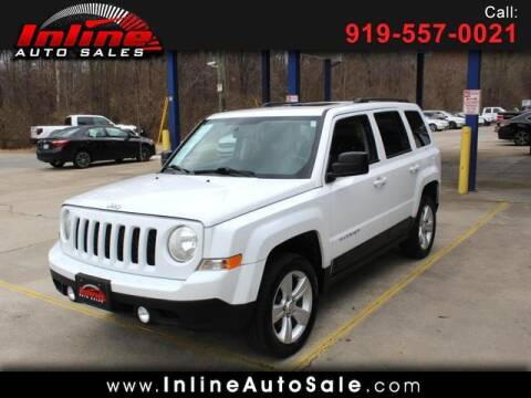 2012 Jeep Patriot for sale at Inline Auto Sales in Fuquay Varina NC