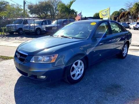 2006 Hyundai Sonata for sale at EZ Own Car Sales of Miami in Miami FL