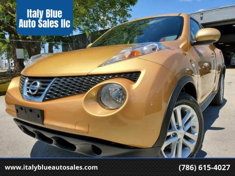 2014 Nissan JUKE for sale at Italy Blue Auto Sales llc in Miami FL