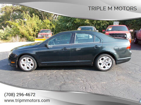2010 Ford Fusion for sale at Triple M Motors in Saint John IN