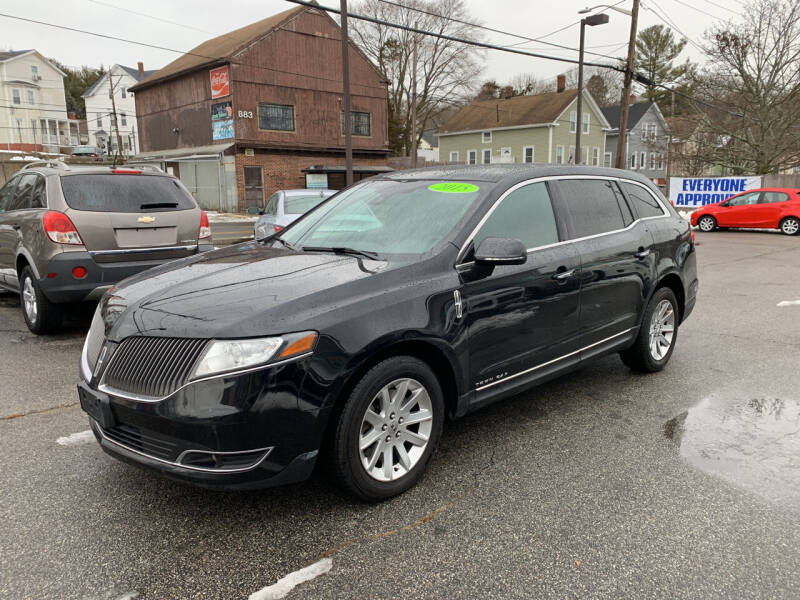 2015 Lincoln MKT Town Car for sale at Capital Auto Sales in Providence RI