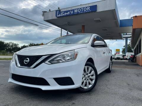 2016 Nissan Sentra for sale at LATINOS MOTOR OF ORLANDO in Orlando FL