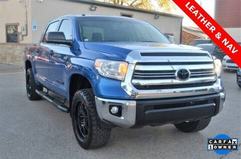 2016 Toyota Tundra for sale at LAKESIDE MOTORS, INC. in Sachse TX