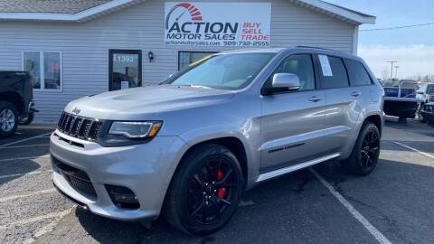 2021 Jeep Grand Cherokee for sale at Action Motor Sales in Gaylord MI