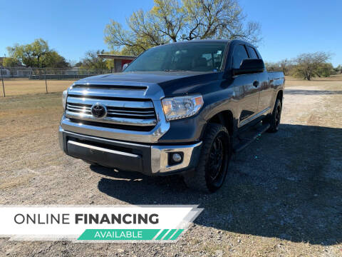 2016 Toyota Tundra for sale at H & H AUTO SALES in San Antonio TX