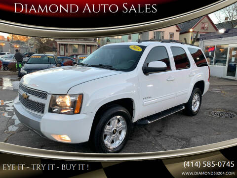 2013 Chevrolet Tahoe for sale at Diamond Auto Sales in Milwaukee WI