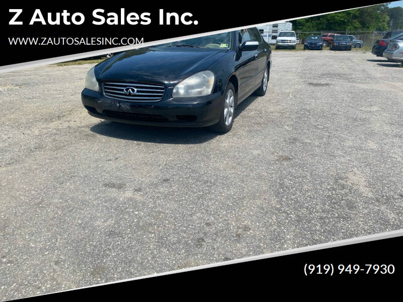 2004 Infiniti Q45 for sale at Z Auto Sales Inc. in Rocky Mount NC