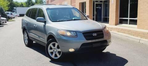 2007 Hyundai Santa Fe for sale at BOOST MOTORS LLC in Sterling VA