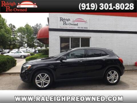 2016 Mercedes-Benz GLA for sale at Raleigh Pre-Owned in Raleigh NC