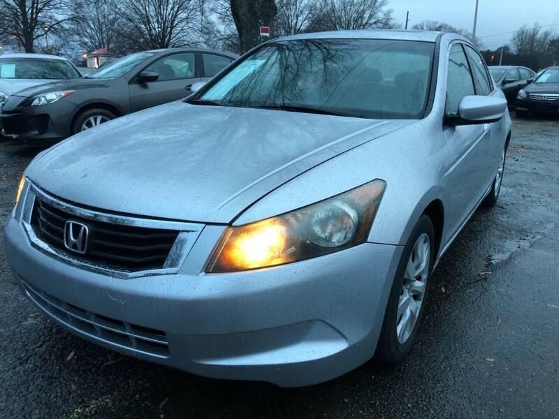 2009 Honda Accord for sale at Atlantic Auto Sales in Garner NC