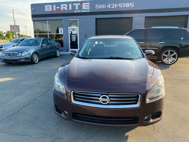 2014 Nissan Maxima for sale at Bi-Rite Auto Sales in Clinton Township MI