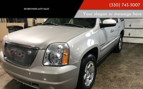 2008 GMC Yukon for sale at Six Brothers Auto Sales in Youngstown OH