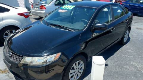 2010 Kia Forte for sale at AFFORDABLE AUTO SALES in We Finance Everyone! FL