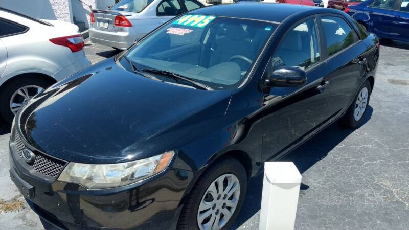 2010 Kia Forte for sale at AFFORDABLE AUTO SALES in Saint Petersburg FL