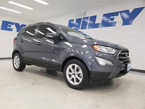 2019 Ford EcoSport for sale at HILEY MAZDA VOLKSWAGEN of ARLINGTON in Arlington TX
