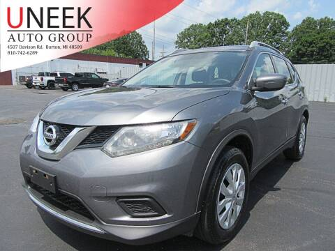 2016 Nissan Rogue for sale at Uneek Auto Group LLC in Burton MI