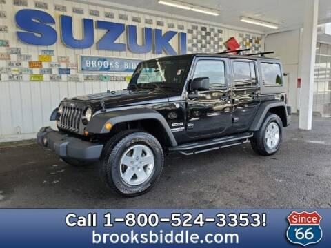 2012 Jeep Wrangler Unlimited for sale at BROOKS BIDDLE AUTOMOTIVE in Bothell WA