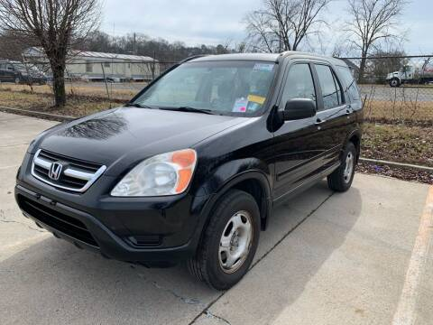 2002 Honda CR-V for sale at Diana Rico LLC in Dalton GA