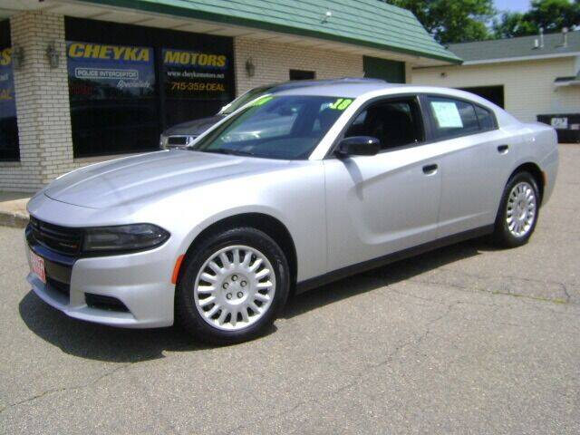2018 Dodge Charger for sale at Cheyka Motors in Schofield WI