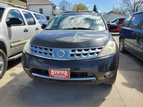 2006 Nissan Murano for sale at Buena Vista Auto Sales in Storm Lake IA