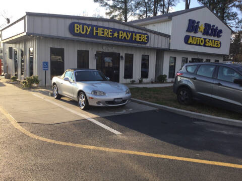 2002 Mazda MX-5 Miata for sale at Bi Rite Auto Sales in Seaford DE