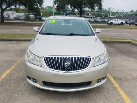2013 Buick LaCrosse for sale at Nation Auto Cars in Houston TX