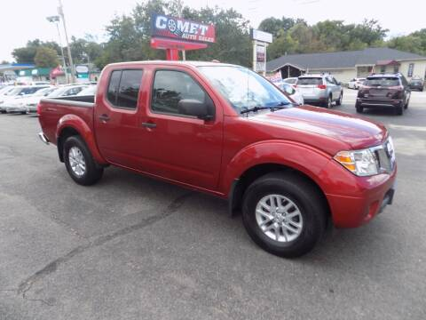 2018 Nissan Frontier for sale at Comet Auto Sales in Manchester NH