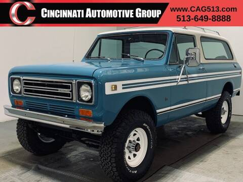 1978 International Scout for sale at Cincinnati Automotive Group in Lebanon OH