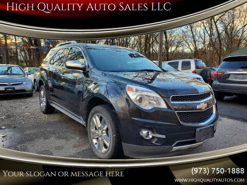 2011 Chevrolet Equinox for sale at High Quality Auto Sales LLC in Bloomingdale NJ