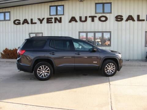 2017 GMC Acadia for sale at Galyen Auto Sales Inc. in Atkinson NE