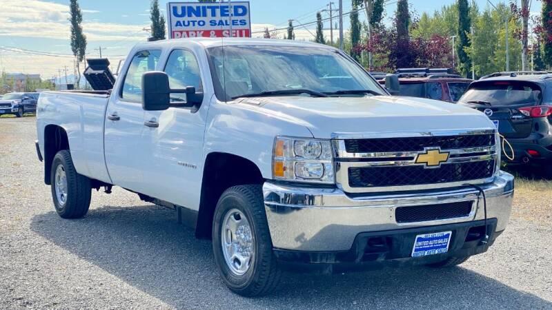 2012 Chevrolet Silverado 2500HD for sale at United Auto Sales in Anchorage AK