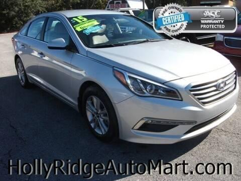 2015 Hyundai Sonata for sale at Holly Ridge Auto Mart in Holly Ridge NC
