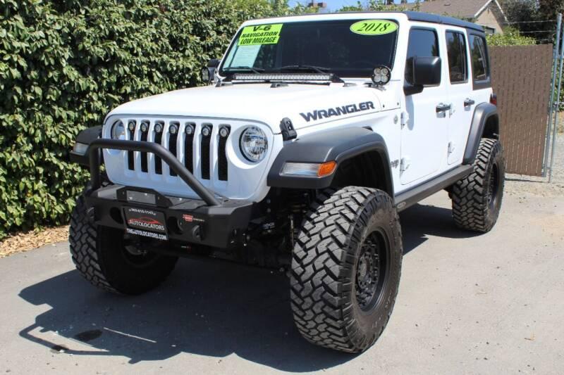 2018 Jeep Wrangler Unlimited for sale in Redlands, CA