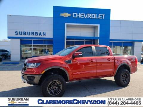 2019 Ford Ranger for sale at Suburban Chevrolet in Claremore OK