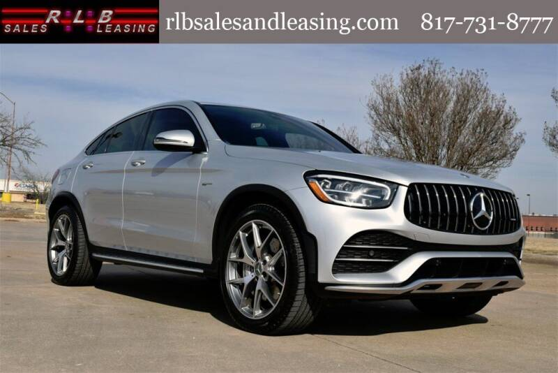 2020 Mercedes-Benz GLC for sale at RLB Sales and Leasing in Fort Worth TX