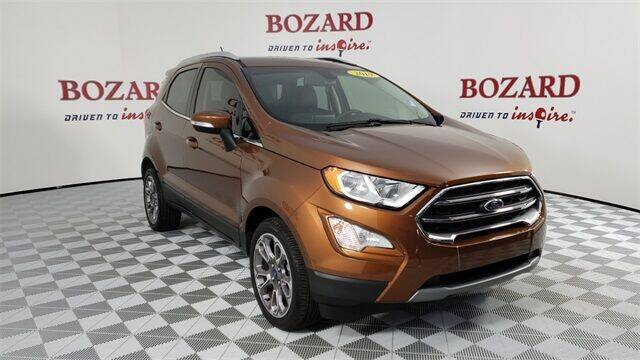 2019 Ford EcoSport for sale at BOZARD FORD in Saint Augustine FL