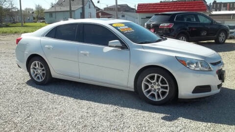 2015 Chevrolet Malibu for sale at MIKE'S CYCLE & AUTO in Connersville IN