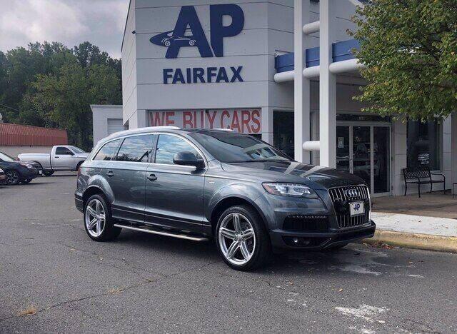 2014 Audi Q7 for sale at AP Fairfax in Fairfax VA
