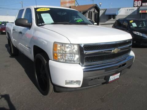 2010 Chevrolet Silverado 1500 for sale at Quick Auto Sales in Modesto CA
