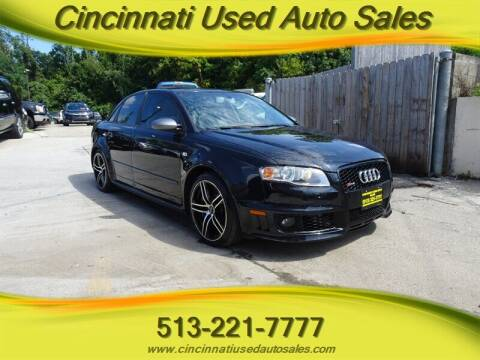 2008 Audi RS 4 for sale at Cincinnati Used Auto Sales in Cincinnati OH