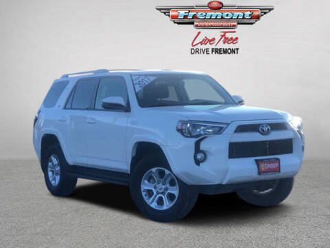 2017 Toyota 4Runner for sale at Rocky Mountain Commercial Trucks in Casper WY
