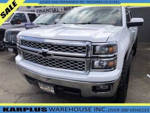 2014 Chevrolet Silverado 1500 for sale at Karplus Warehouse in Pacoima CA